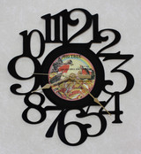 England Dan & John Ford Coley - The Best Of - LP RECORD WALL CLOCK made from the Vinyl Record Album S-6