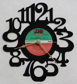 AC/DC - Dirty Deeds Done Dirt Cheap - LP RECORD WALL CLOCK made from the Vinyl Record Album S-14