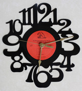 Richard Pryer - Black Ben the Blacksmith - LP RECORD WALL CLOCK made from the Vinyl Record Album S-11