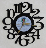 ELTON JOHN - Rock of the Westies - LP RECORD WALL CLOCK made from the Vinyl Record Album S-7