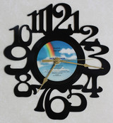Steely Dan - Gaucho - LP RECORD WALL CLOCK made from the Vinyl Record Album S-15