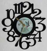BREAD - Lost Without Your Love - LP RECORD WALL CLOCK made from the Vinyl Record Album S-2