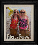 8x10 FRIENDS FOREVER Portrait Or Landscape Picture Frame ~ Great Gift for a Friend!