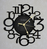 ALABAMA ~ The Touch ~ LP RECORD WALL CLOCK made from the Vinyl Record Album