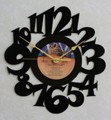 ALIEN ~ ORIGINAL MOVIE SOUNDTRACK ~ Wall Clock made from the Vinyl Record LP ~ Recycled LP Vinyl Record/Album Clock