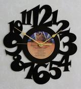 ALIEN ~ ORIGINAL MOVIE SOUNDTRACK ~ Wall Clock made from the Vinyl Record LP ~ Recycled LP Vinyl Record/Album Clock