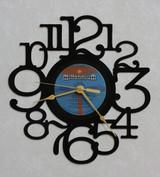BRUCE COCKBURN ~ HUMANS ~ Wall Clock made from the Vinyl Record LP ~ Recycled LP Vinyl Record/Album Clock
