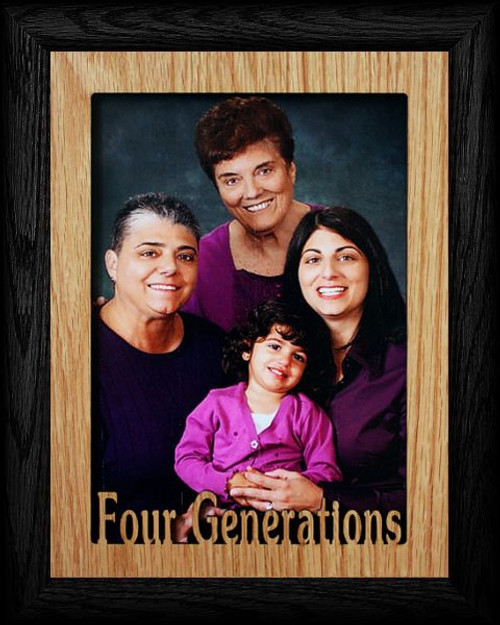 Beautiful Four Generations Picture Frame 5x7