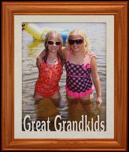 8x10 Great Grandparents Laser Photo Poetry Frame Holds A