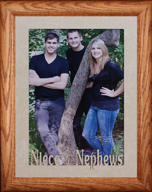 5x7 Jumbo Niece Nephews Landscape Frame For A Favorite Aunt Or
