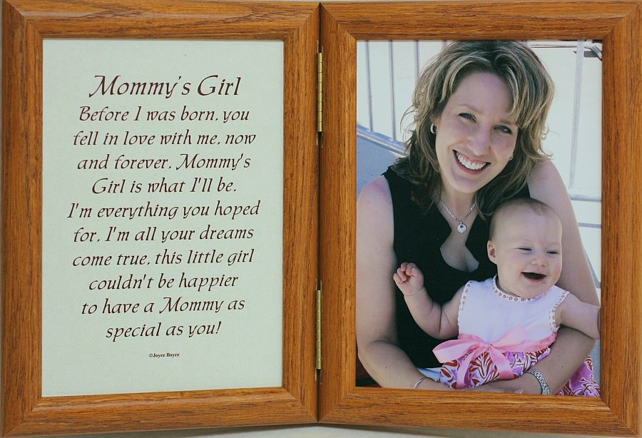 Mothers Day Picture Frame gift gift for grandma picture with clip choice of size photo board first mothers day FMD Gift for mom i love you mommy frame