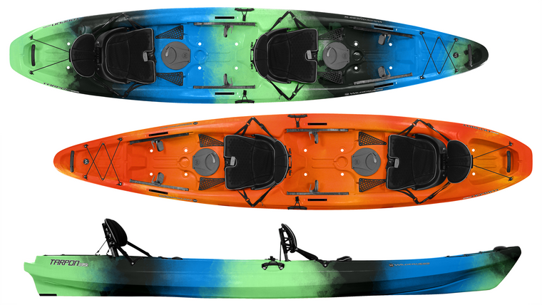 Wilderness Systems Tarpon 135T Sit-On-Top Tandem Kayak