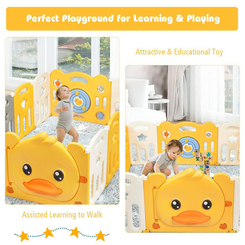 Little yellow duck children's fence (FREE WORLDWIDE SHIPPING)