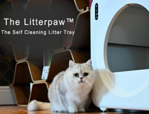 The Self Cleaning Litter Tray