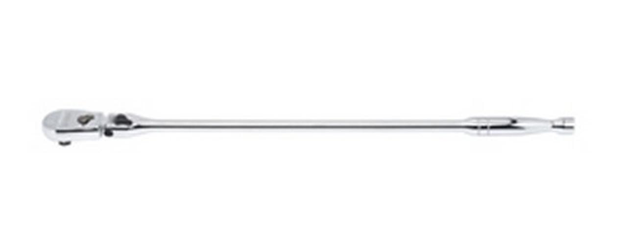 "7/"" Locking Flex Ratchet Full Polish Handle Gearwrench 81015 1//4/""Dr"