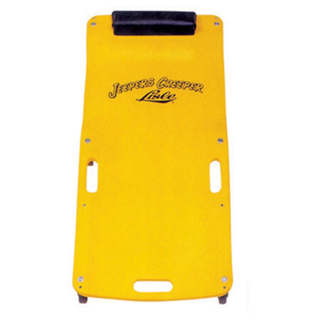Yellow Low Profile Plastic Creeper LIS93102 Brand New!