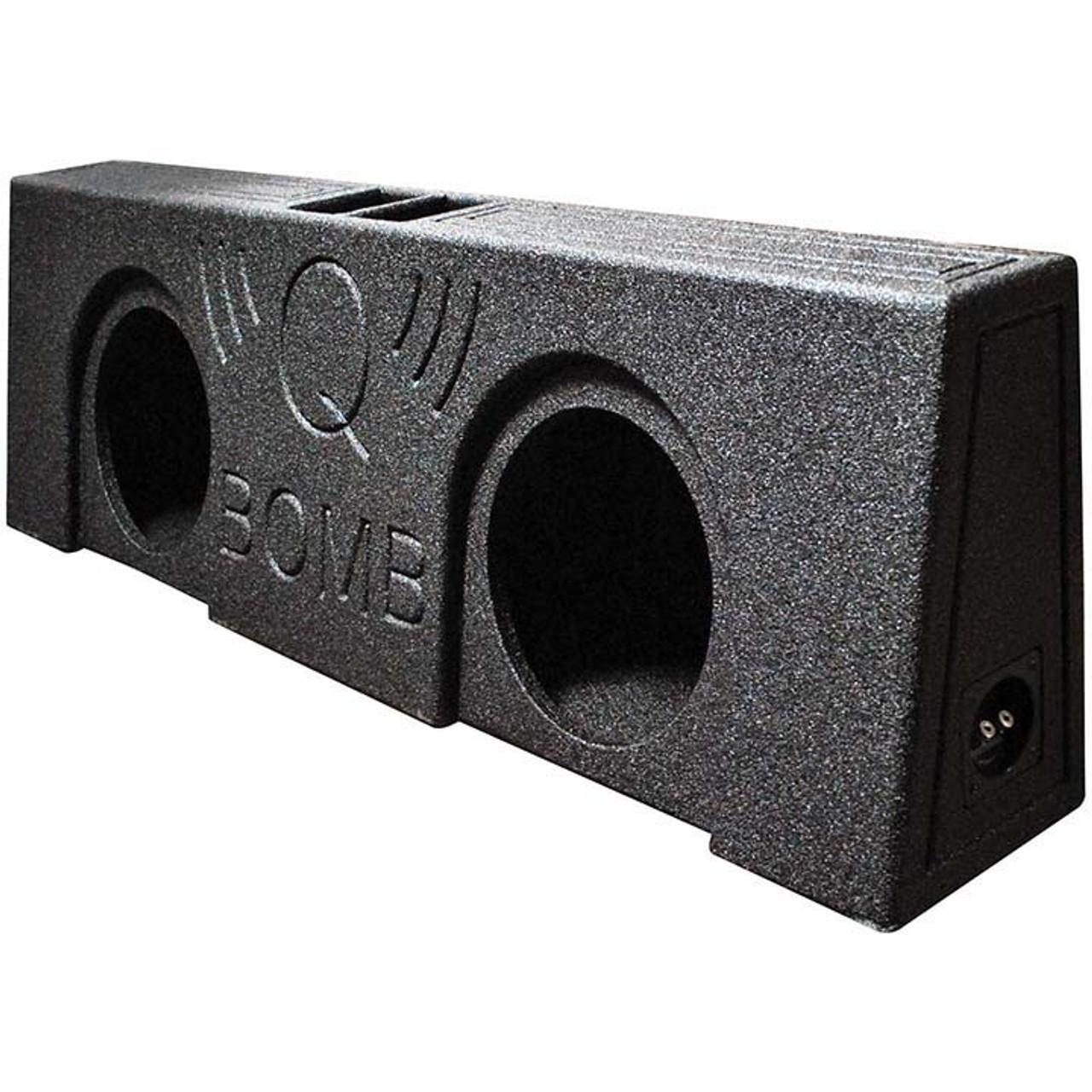 """Qpower QBTRUCK112S Qbomb Single 12/"""" Empty Woofer Box"""