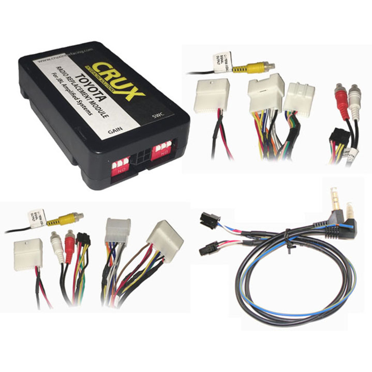 Crux SOHTL20 Radio Replacemnet For Toyota /& Lexus Vehicles w//Jbl Sound Systems