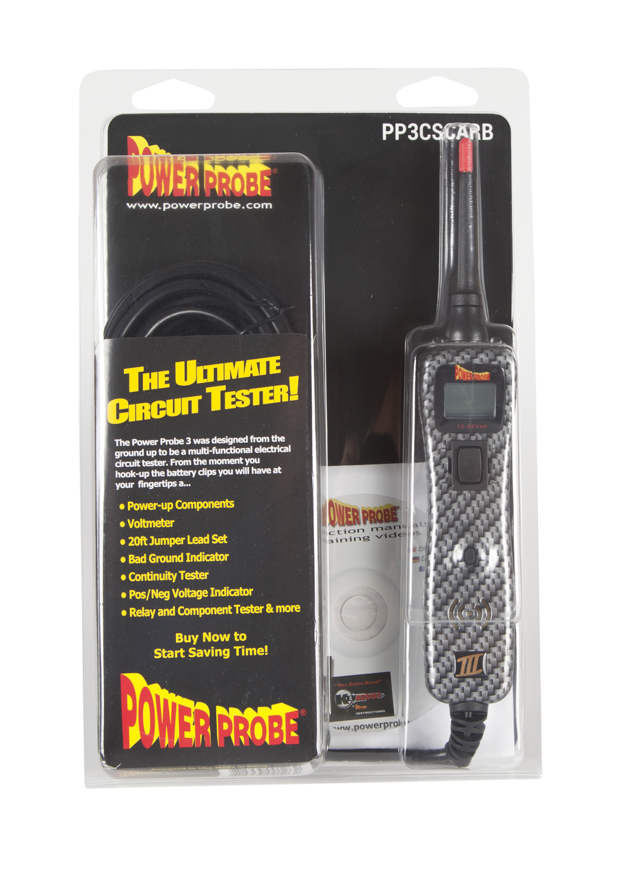 Power Probe III in Clamshell Carbon Fiber PP3CSCARB
