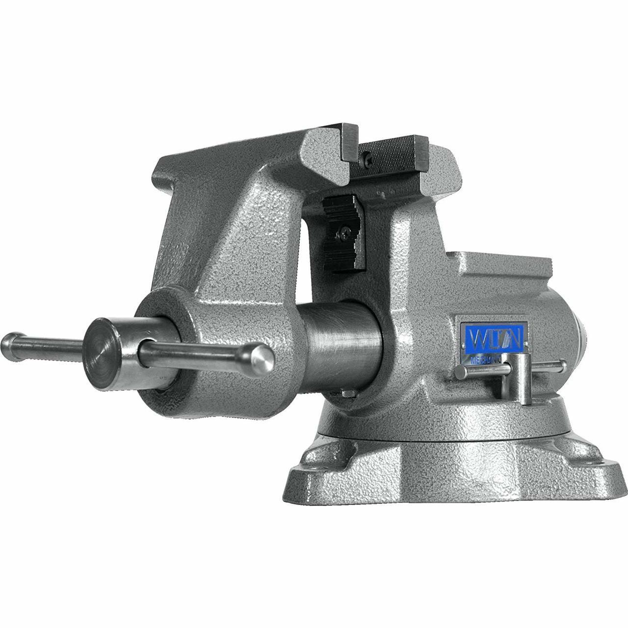 """360 Swivel Base Wilton 28819 Utility Bench Vise 5-1//2 Jaw 5/"""" Jaw Opening"""