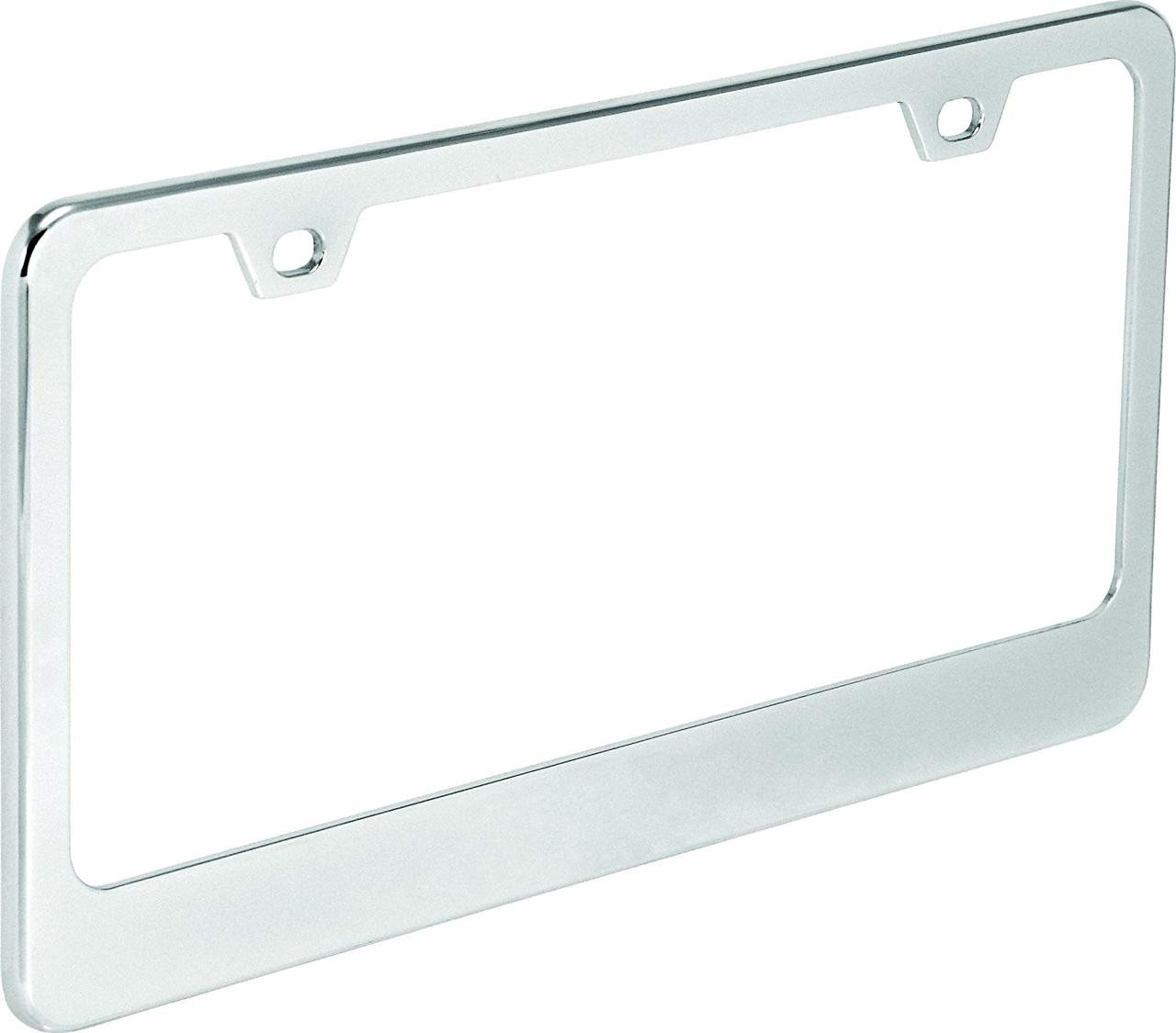 Bell Automotive 22-1-46452-9/Universal Make your Message Personalized License Plate Frame Black