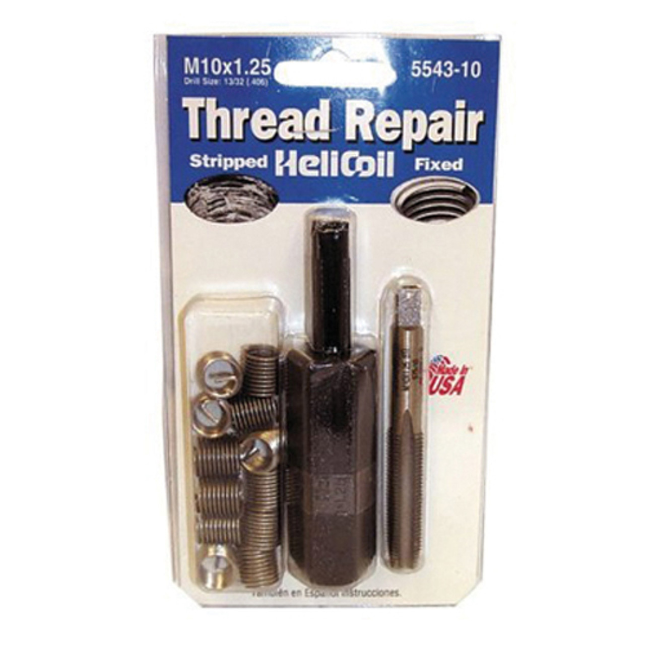 HeliCoil 5546-8 Thread Repair M8 x 1.25 12 Insert /& Tool Complete Kit