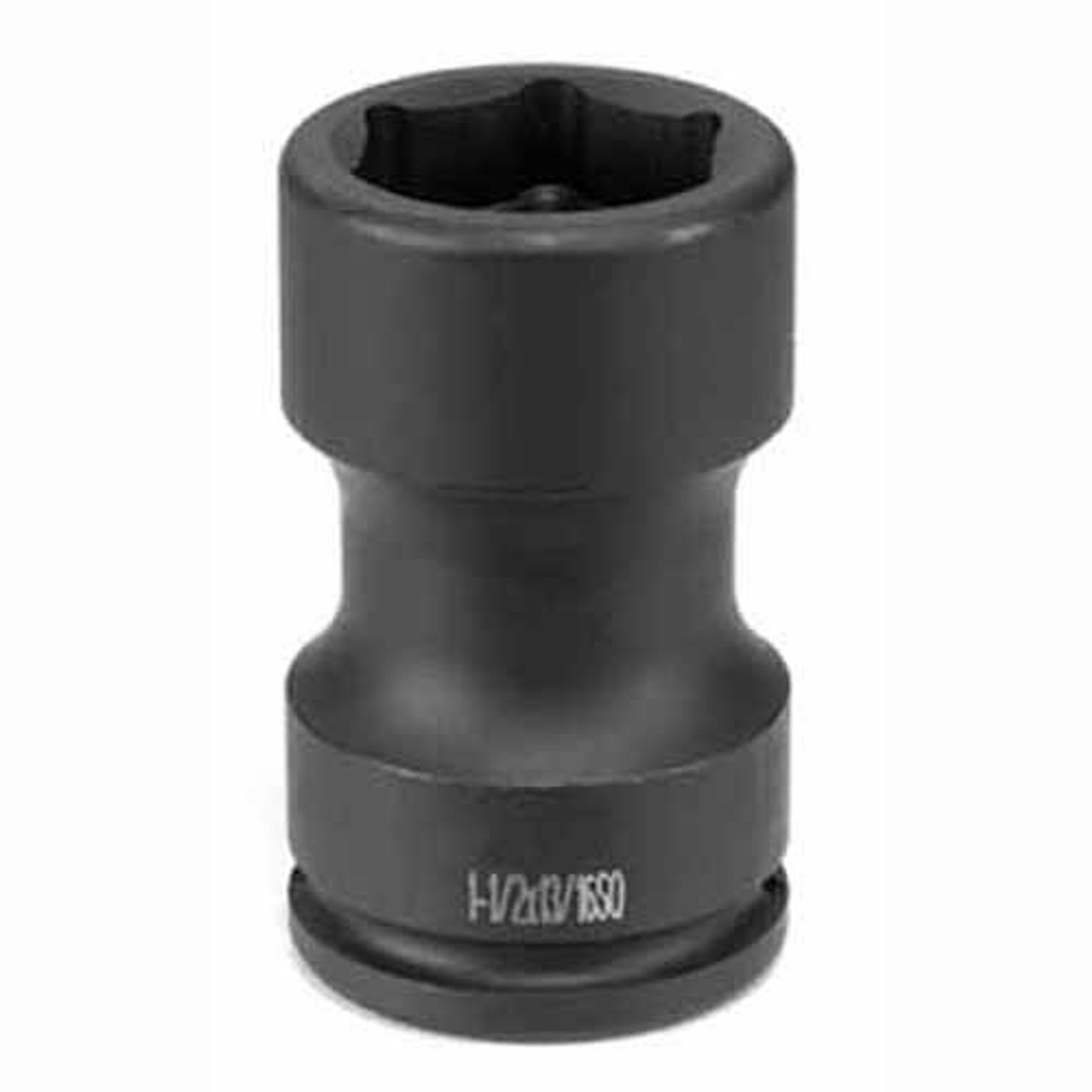 """4 Point Socket Grey Pneumatic 4321S 1/"""" Drive x 21mm Square"""