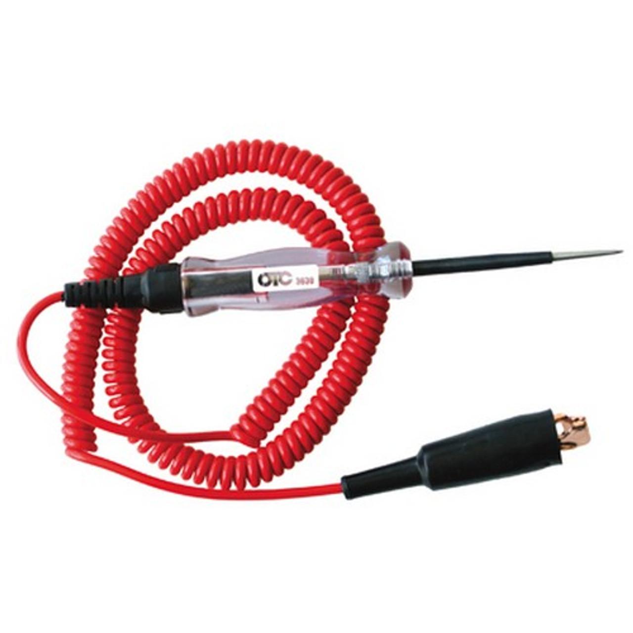OTC Circuit Tester,6//12V,12 ft. 3633