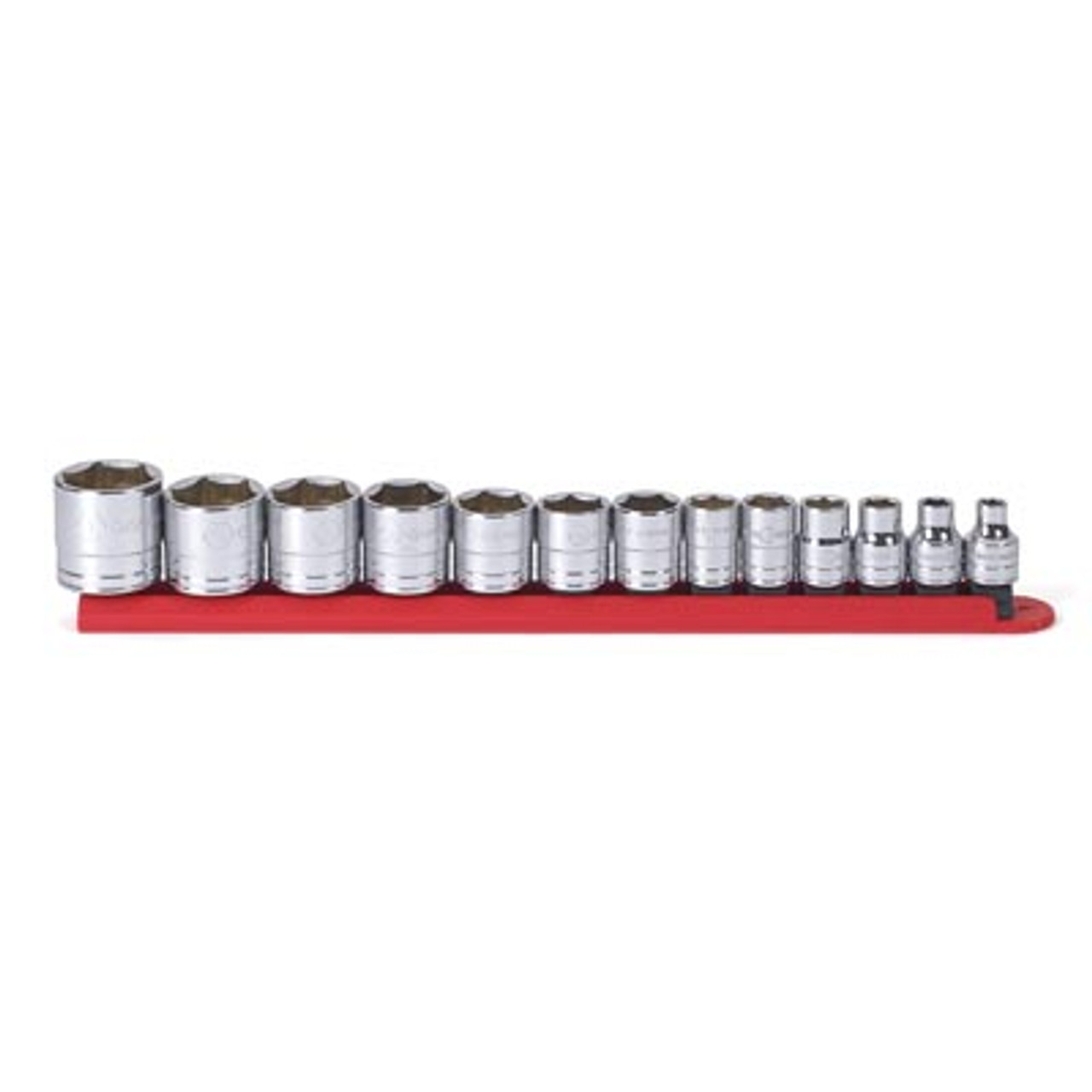 13-Piece 3//8 in Drive 6-Point Metric Magnetic Impact Socket Set GRY-1213MG New!