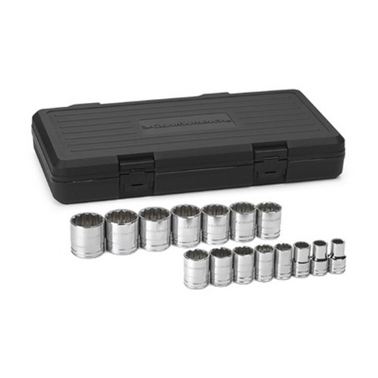 "Gearwrench 80706 15 piece 1//2/"" Drive SAE Socket Set"