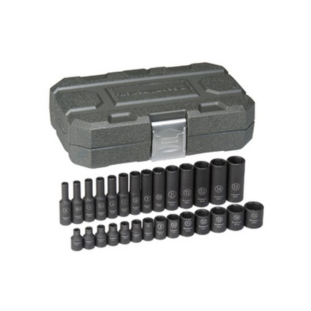 "Gearwrench 84901 Impact Socket Set 28 piece 1//4/"" Drive mm"