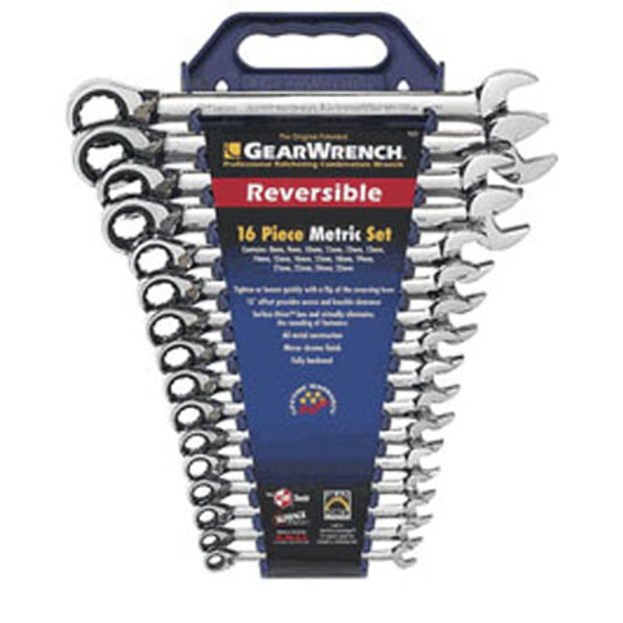 GEARWRENCH 9621 21mm Reversible Combination Ratcheting Wrench 9621N