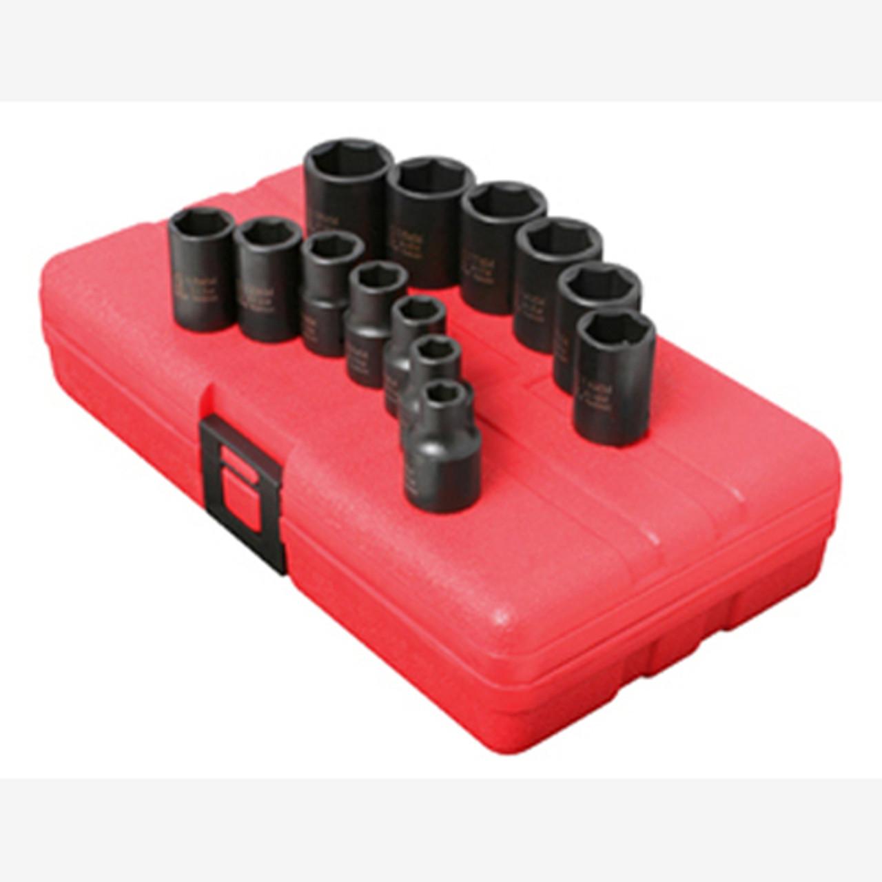 Sunex 315m 3//8-Inch Drive 15-Mm Impact Socket