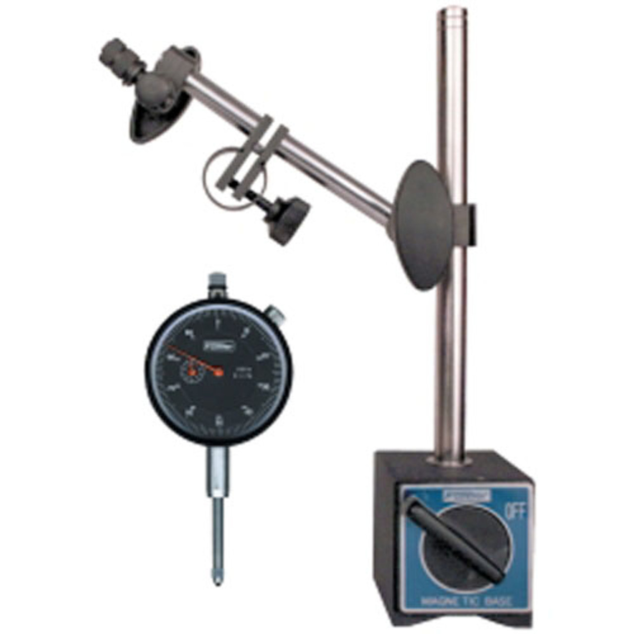 """GearWrench 3761 2-1//4/"""" Dial Indicator Set with on//off base"""