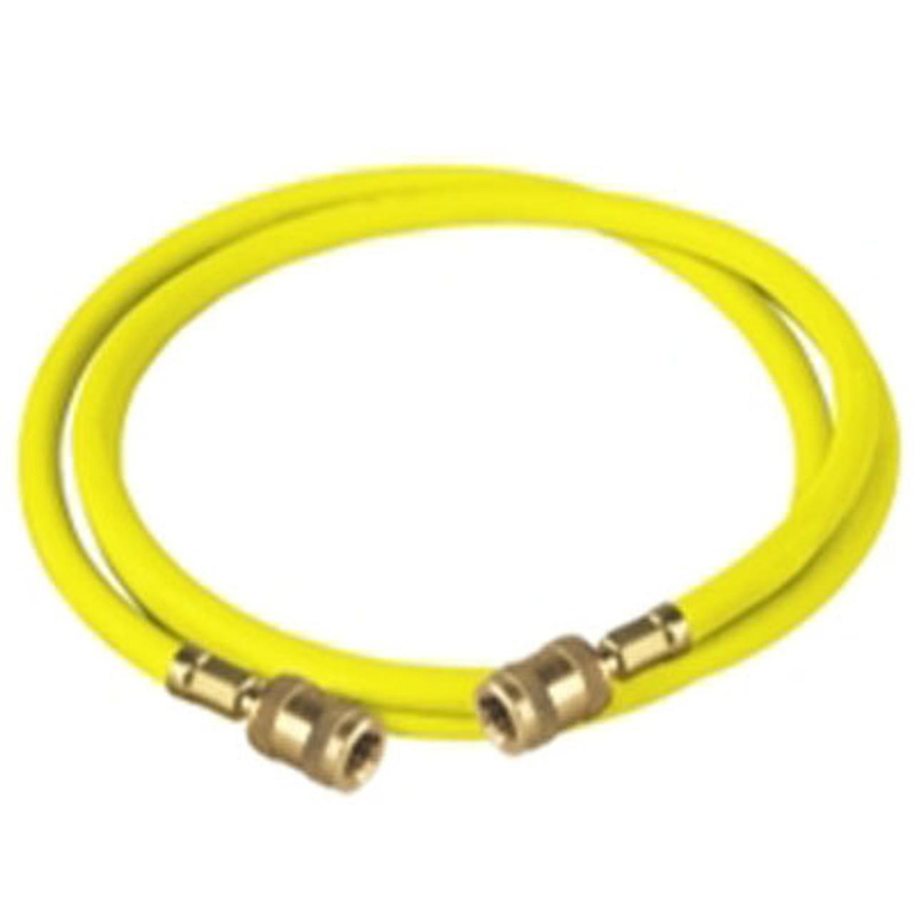 Robinair 65160 Enviro-Guard Yellow 60 Hose with Ball Valve