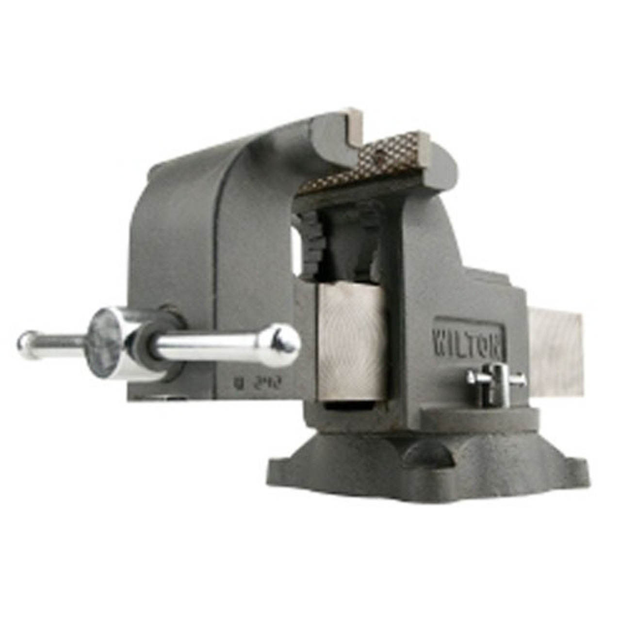 Jaw Bench Vise With Swivel Base Wilton 11105 5 In