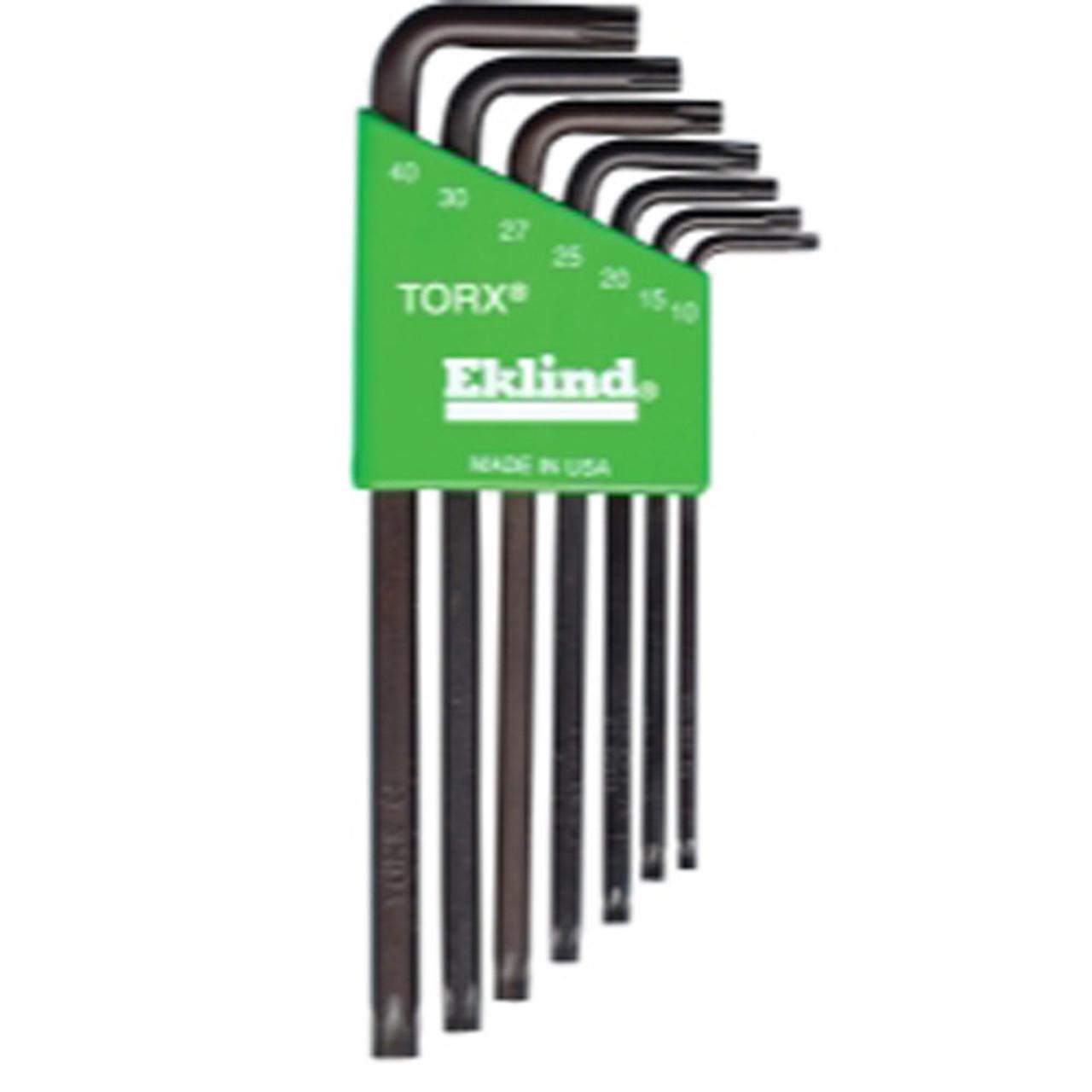 Eklind Tool Company 10907 7 Piece Long Torx L-key Set