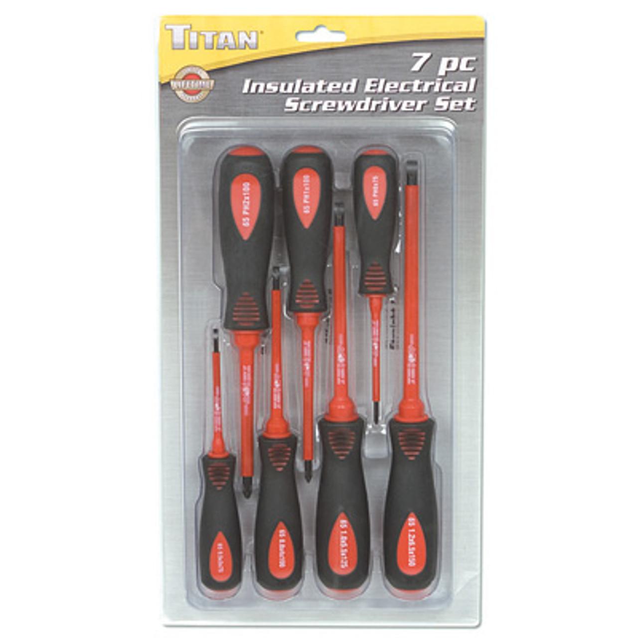 Titan Tools 17208 8-Piece Screwdriver Set