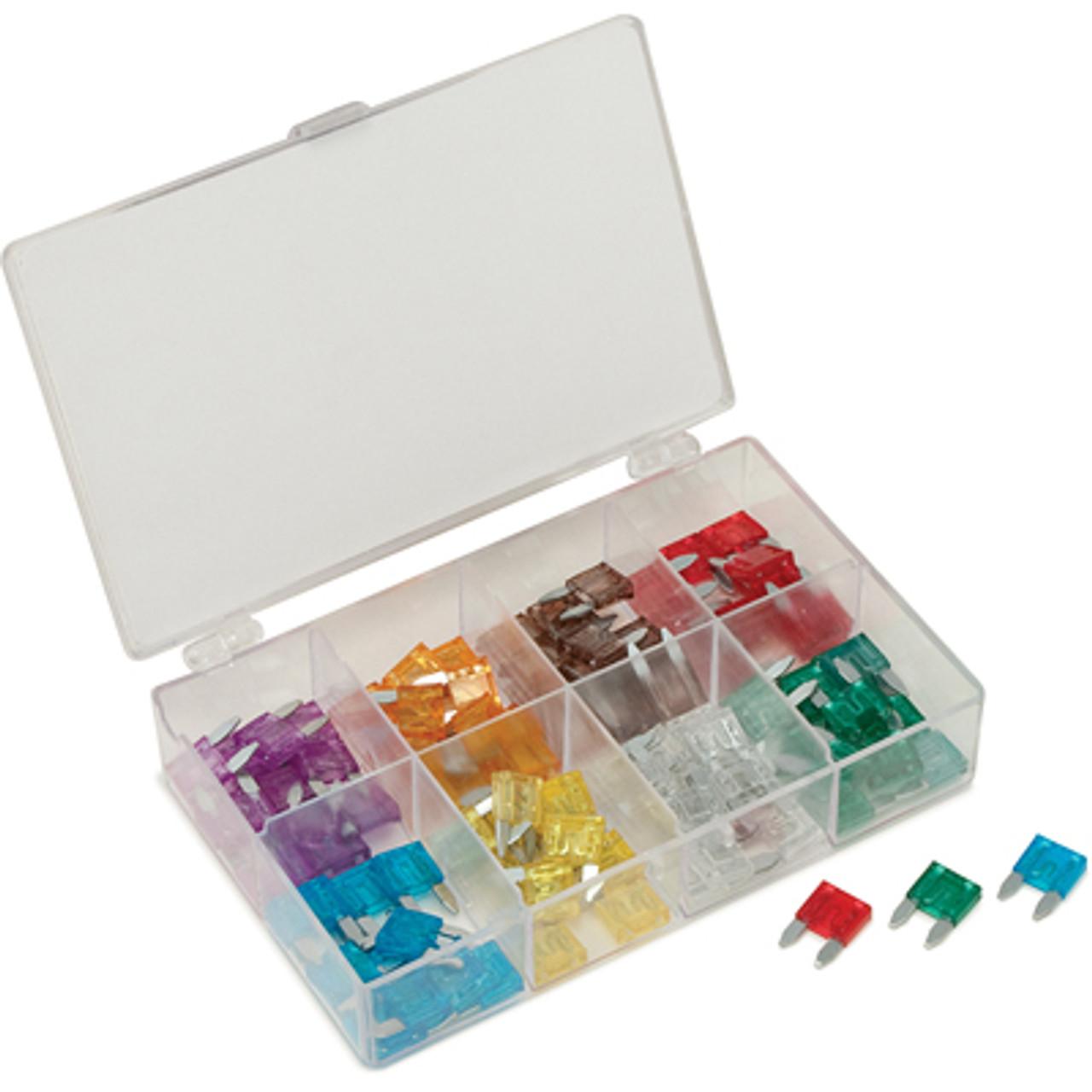 Titan Tools 45237 36 Piece Low Profile Mini Fuse Assortment