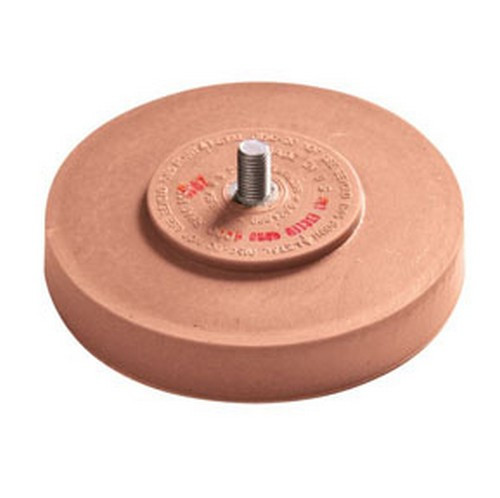 """Aes Industries AES-51824 7/"""" Back-up Pad With Nut"""