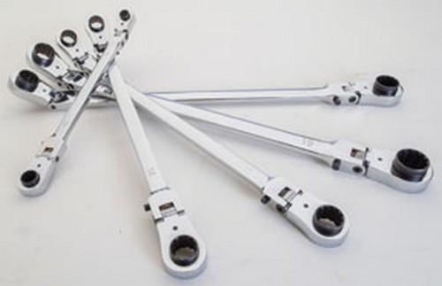 "5//16"" x 3//8""-12.41"" Long Platinum 99755 XL Ratcheting Wrench"