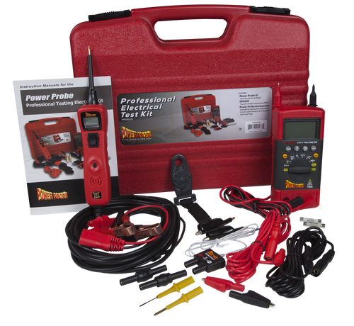 Power Probe PP3LS01 PP3 Kit with Test Leads | JB Tools