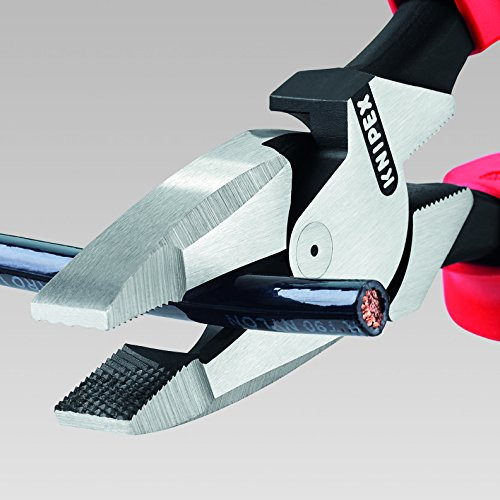 Knipex 0912240 Lineman/'s Pliers New England Style With Non-Slip Coating 9 1//2 In