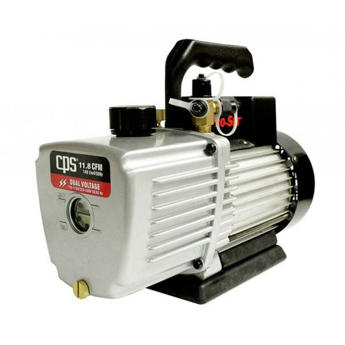 CPS Products VP12D Pro-Set Two Stage Vacuum Pump 12 cfm 10 Micron