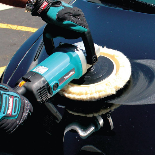 Hook and Loop Electronic Polisher//Sander Makita 9227C 7 in