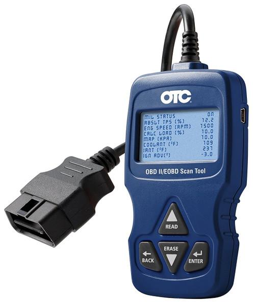 Automotive Scan Tool >> Otc 3109n Trilingual Obd Ii Eobd Can Automotive Scan Tool Bonus Hard Case Included