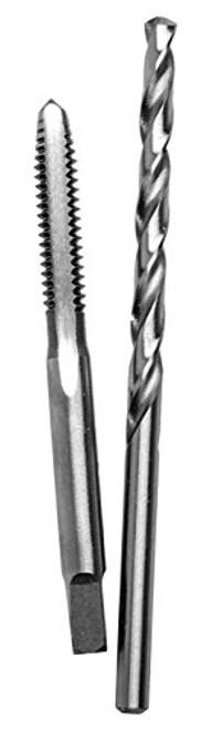 Irwin 80217 Hanson 8-32 NC Thread HCS Plug Tap and #29 HSS Drill Bit Combo Pack