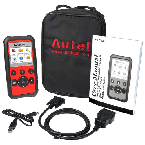 Autel USA AL609P AutoLink OBDII Diagnostic Pro Service Tool