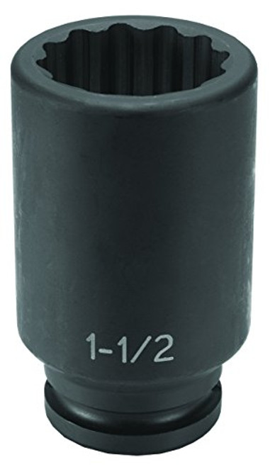 "4 Point Socket Grey Pneumatic 3313SL 3//4/"" Drive x 13//16/"" Deep Square"