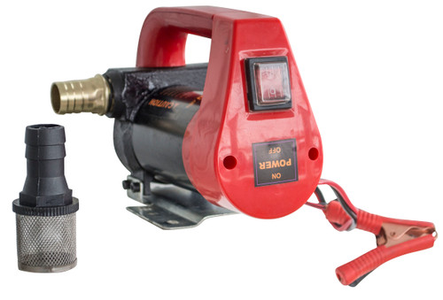 Black Bull 12 Volt Portable Diesel Oil Pump